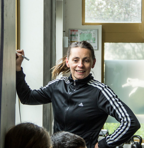 Emmanuelle Cabassut Coach et Co Owner CrossFit Eclair