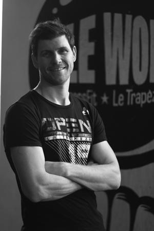 Pierre Ouvrard Coach et Co Owner CrossFit Éclair